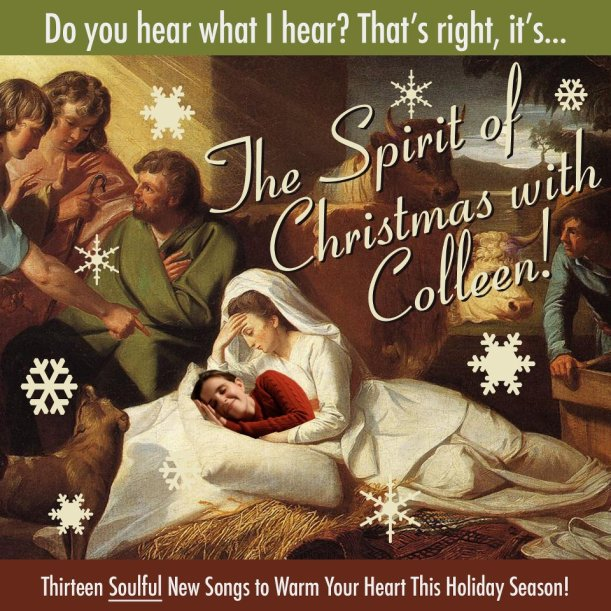 the spirit of christmas with colleen